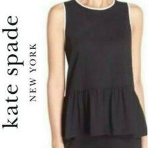 Kate Spade Dream a Little Dream Peplum Tank